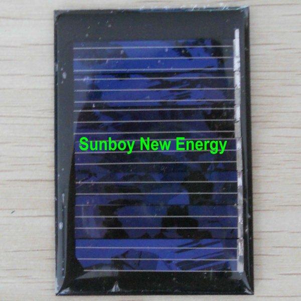 Epoksi küçük 3.5v85ma güneş paneli