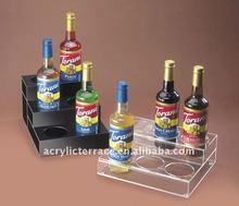Clear&Black Acrylic Bottle Organizers