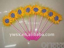 unique promotional ballpoint pen with sunflower
