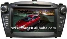 7'' HYUNDAI IX350 car PC Video Monitor Navi dvd Player with GPS BT TV RADIO PIP 3D MENU ST-6770