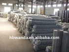 low carbon steel galvanized chain link mesh