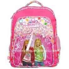 2011 designer child school bag with super star printing