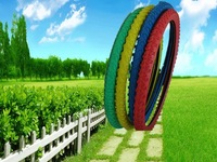 color bicycle tyre and inner tube