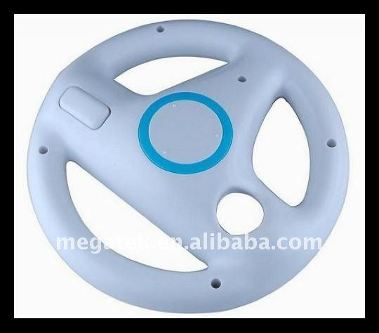 Steering wheel for wii remote racing game