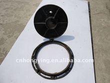 Round 500 wrought ductile iron manhole cover