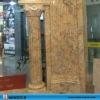 natural granite marble column