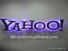 Reception LED Backlit/halo Signage