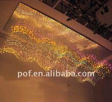 RGB color, end glow, PMMA optic fiber lighting