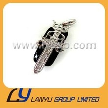 Sword on ellipse jewelry usb flash memory with full capacity