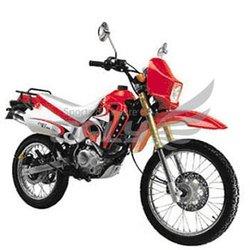 Gas-Powered 200CC Dirt Bike with Spoke Wheel Rim WZDB2002