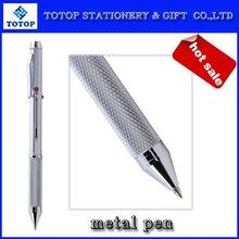 unique metal pen with 4 color refill
