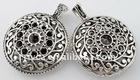 Hottest,heart pendant in an hollow plain shape*56*44mm