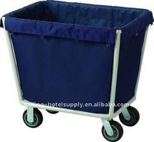 hotel linen cart service trolley