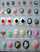 Jewelry Resin Accessories Resin Beauty head decoration