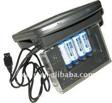 Solar AA/AAA Battery Charger