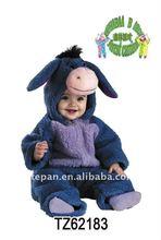 Eeyore Plush Costume Baby Costume /Infant Baby Halloween Animal Costume TZ-62183