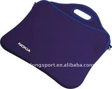 custom neoprene laptop sleeve with handle, skilled factory