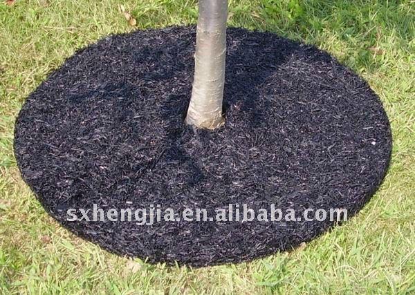 24 brown caoutchouc paillis arbre anneau rev tements de sol en caoutch - Paillis caoutchouc recycle ...
