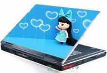 cute colored cartoon laptop skin