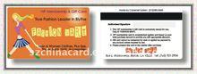 Fashion pvc vip card for shopping