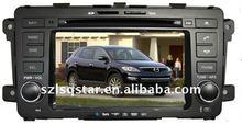 7'' MAZDA CX-9 car dvd Device with GPS BT TV RADIO PIP 3D MENU ST-8830