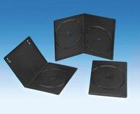 7MM BLACK DVD CASE SINGLE/DOUBLE(YD-026)