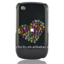 Graphic ABS Phone Cover Case for BlackBerry Curve 3G 9300 / 9330 / 8520 / 8530