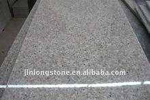 Polished G681 granite slabs cutting edge