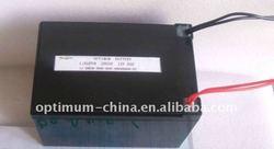 Rechageable battery pack 12V 9AH for snowmobile