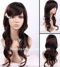 Fashion Wavy Virgin Human Hair Full Lace wigs