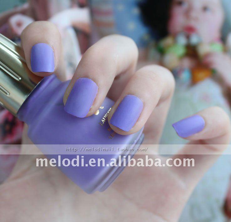Mate de color de esmalte de uñas/mate laca de uñas/laca/barniz