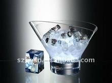 Clear Acrylic Ice Bucket/Cooler