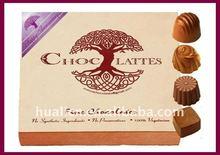 2011 super luxury wooden MDF chocolate box