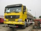 266hp Yellow Fuel tanker truck HOWO 8X4 sinotruck heavy truck