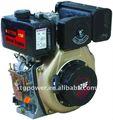 Atón 6hp de aire - refrigerado por vertical sola 3.7/4.0kw del cilindro del motor diesel