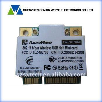 Azure Wave AW-NU706H 802.11 b/g/n wireless USB Half Mini card TLZ-NU706