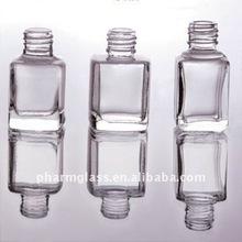 small perfume glass bottle