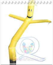 advertising inflatable cartoon tube for sale