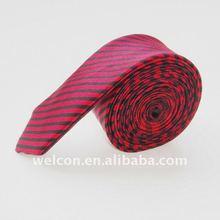 Men's 100% silk stripe necktie
