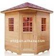Outdoor Wooden Traditional Sauna Room, Sauna Cabin PFDOD-004A