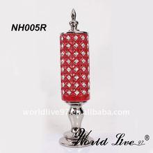 Red Shinning Diamonds Decorative Ceramic Product