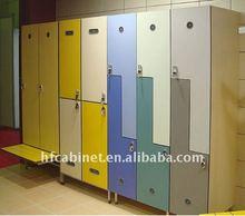 Z shape combination MDF wardrobe locker for gym