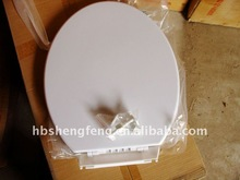 High Quality Round Plastic WC Toilet Seat Cover