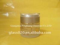 50g clear glass cosmetic jar