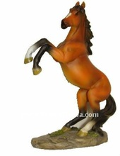 Resin figurine animal horse