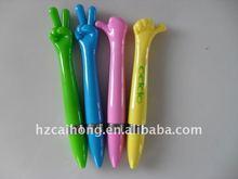 CH-6166-lovely ballpoint pen in finger shape,ideal promotional gift pen