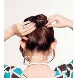 Magic Hair Bun Sponge Hair Bang Clips (Large)