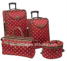 Fashion beautiful 4-pics luggage sets