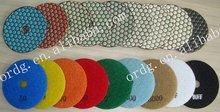 "4"" Hexagon Shape Dry Type Diamond Soft Pads"