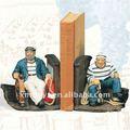 2011 resina cartoon pirata estatueta de resina de largura 24cm veio da experiência de mestrado mão